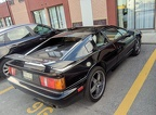 Lotus Esprit in hotel parking lot